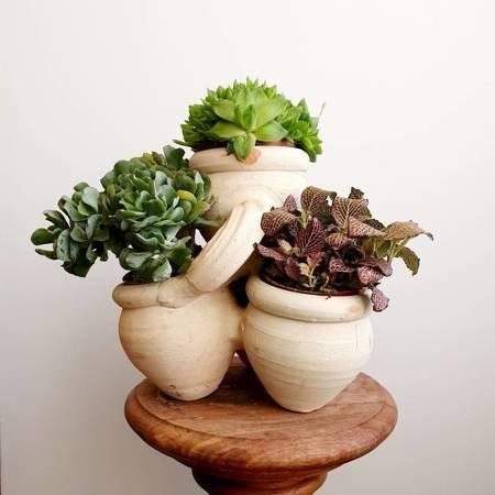Donica ceramiczna do ziół i kwiatów, ziołownik
