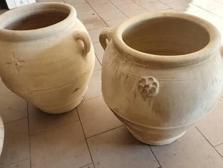 Duże donice do ogrodu, tarasowe, ceramiczne. Do drzew, krzewów, pnączy
